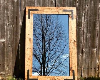 Mirror,Modern Mirrors,Decorative Bathroom Mirrors,Decorative Wall Mirrors, Distressed Wood Mirrors,Small Mirror,Wood Mirror,Rustic Mirror