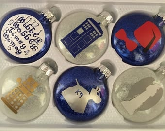 Doctor Who Inspired Ornaments