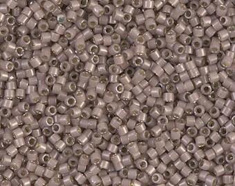 11/0 Silver Lined Cinnamon Opal Miyuki Delica-1460, DB1460, Delica 1460, 6 Grams