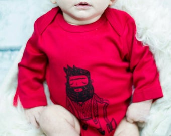 Lumber Jack - lumberjack baby, coming home boy, organic baby outfit, mountain baby, natural baby clothes, woodland baby clothes, wild child
