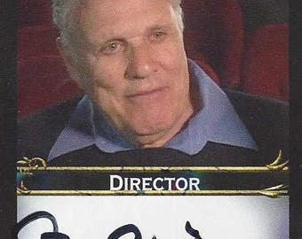 Steve Binder: Star Wars Holiday Special Director AUTOGRAPHED Custom Trading Card