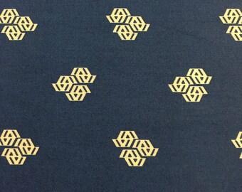 Fragmental by Angela Walters for Robert Kaufman Fabrics Navy Blue