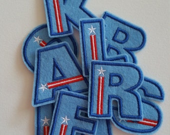 letters iron on or sew on applique alphabet patchalphabet appliqueletters patchespatriotic letters patch letters applique letters embroidery