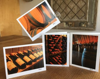 Winery Wonderland Notecards