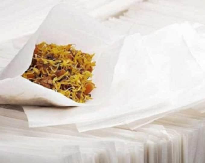 "Empty Tea Bags, Press 'n Brew, 2.50"" x 2.75"""
