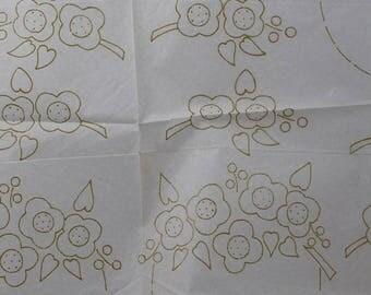 Flowers - Vintage Iron-on Transfer - Good Needlework 167