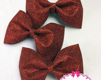 Full Glitter Tailless Cheer Bow