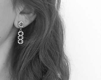 "Earrings  ""Celosía"" Collection - Sterling Silver"