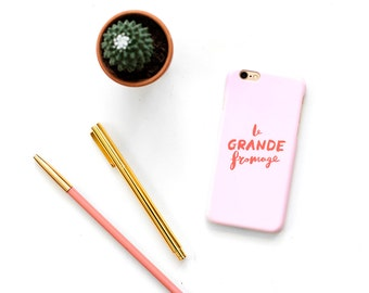 Brush Lettered Phone Case for iphone 6/6S/7