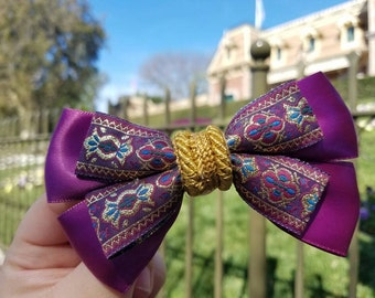 Disney Inspired Magic Carpet Aladdin bow