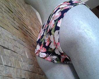 Panty Underwear Lingerie Bikini Flowers