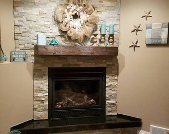 Fireplace mantel60 Long x 55 Tall x 75