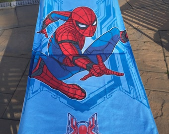 Spider-Man Beach Towel - Personalized Spiderman Beach Towel