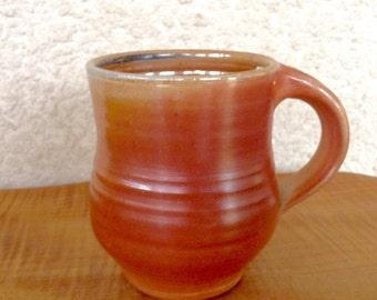 Soda Fired Pottery Coffee Mug / Cup