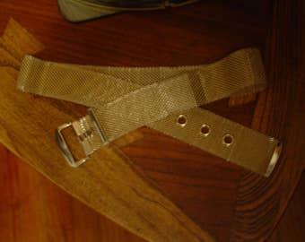 Vintage Gold Mesh Belt