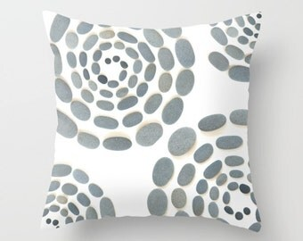 Beach Pebbles Pillow