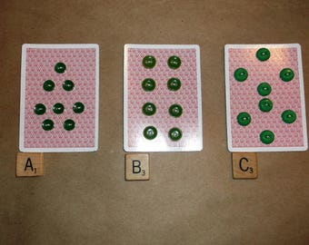 Vintage Small Green Buttons