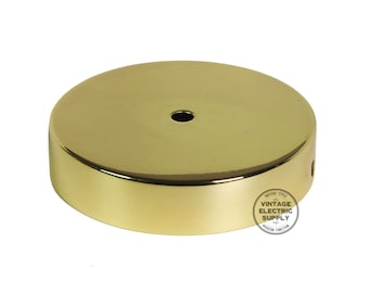 Ceiling Canopy - Polished Brass