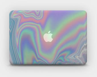Transparent MacBook Skin MacBook Sticker MacBook Decal Laptop Skin  MacBook Air  MacBook Pro  – Magic Iridescence Holographic