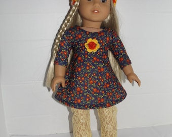 "For 18"" dolls such as American Girl Doll Clothes  4 Piece Set"