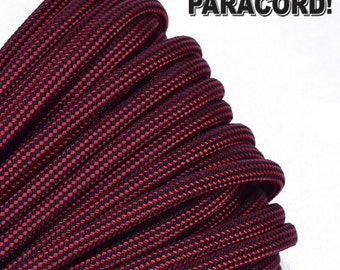 Fire Fighter - 100 Feet - 550 Paracord for Paracord Crafts - Made in the United States