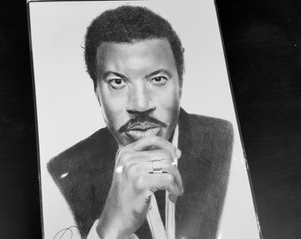 Lionel Richie pencil drawing