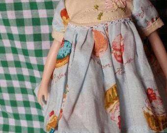 Blythe handmade clothing dress oufits by badrabbit