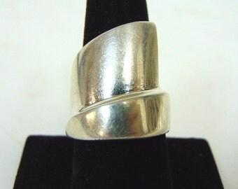 Vintage Estate Sterling Silver Ring 21.1g E909