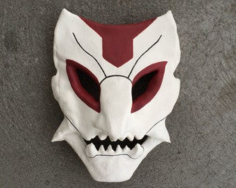 Thresh Blood Moon Skin Mask League of Legends Costume Prop