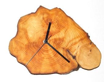 Clock, rustic clock, wall clock, eco friendly clock, wooden clock, wood clock (47)
