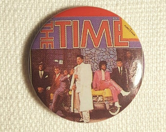 Vintage 80s Morris Day and The Time Pin / Button / Badge