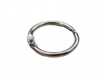 """1"""" Steel Snap Display Ring 100PK101719"""