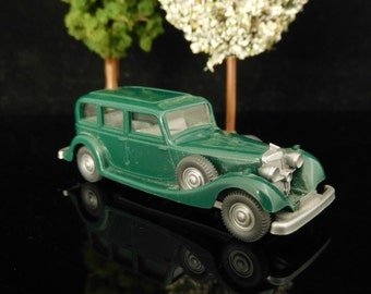 Vintage Toys, Collectible, Miniatur Wiking Car, H0, Audi Horch 850, Old-timer, Berlin West Germany / Vintage Wiking Car / Mans gift