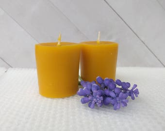 Beeswax voitive candle, beeswax candle, all natural candle, pure beeswax candle, energy candle, reiki charged candle