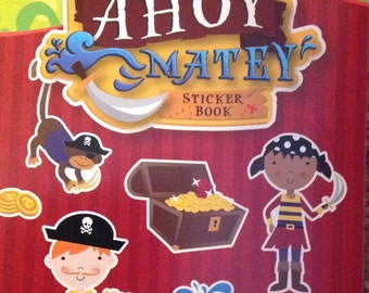 SALE: Creatology Sticker Book- Ahoy Matey