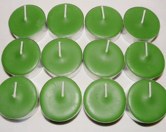 Pine Needles Scented Soy Tea Lights You Pick Package
