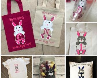 Bunny Alphabet & Numbers