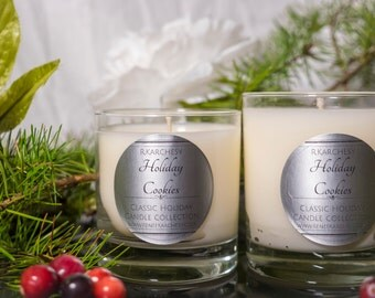 Holiday Cookie Scented Candle 8oz