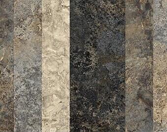 Slate Graduations-Stonehenge Col.-Northcott-5 Different Stripes-BTY