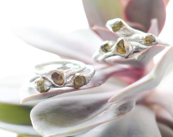 peridot rings // nickelfree// many sizes