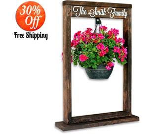 Outdoor decor.outdoor garden decorations.patio decor.front porch decor.garden decor.outdoor planters.yard decor (Plant Stand)