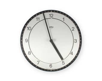 Vintage Braun ABK30 Type 4861 Wall Clock
