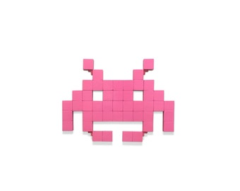 Space Invader (Aquatic Crab) Wall Art
