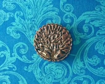 Brown Tree of Life Magnet