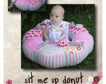 Sit me up donut Sewing Pattern Only | Paula Storm Designs | Cushion for a Baby | New born baby gift