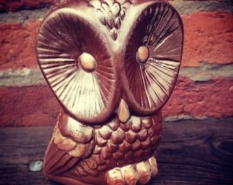 Handmade Belgian chocolate owl - Milk, Dark or White