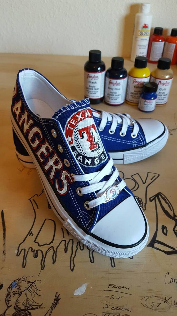 custom rangers inspired fan shoes and