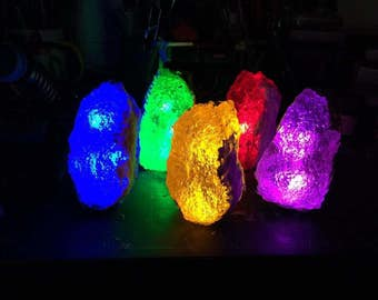 Kryptonite rock set of 5