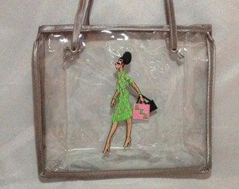 Alpha Kappa Alpha Clear Diva Make-up Bag