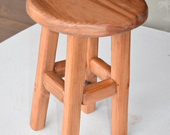 Hand Made Small Stool